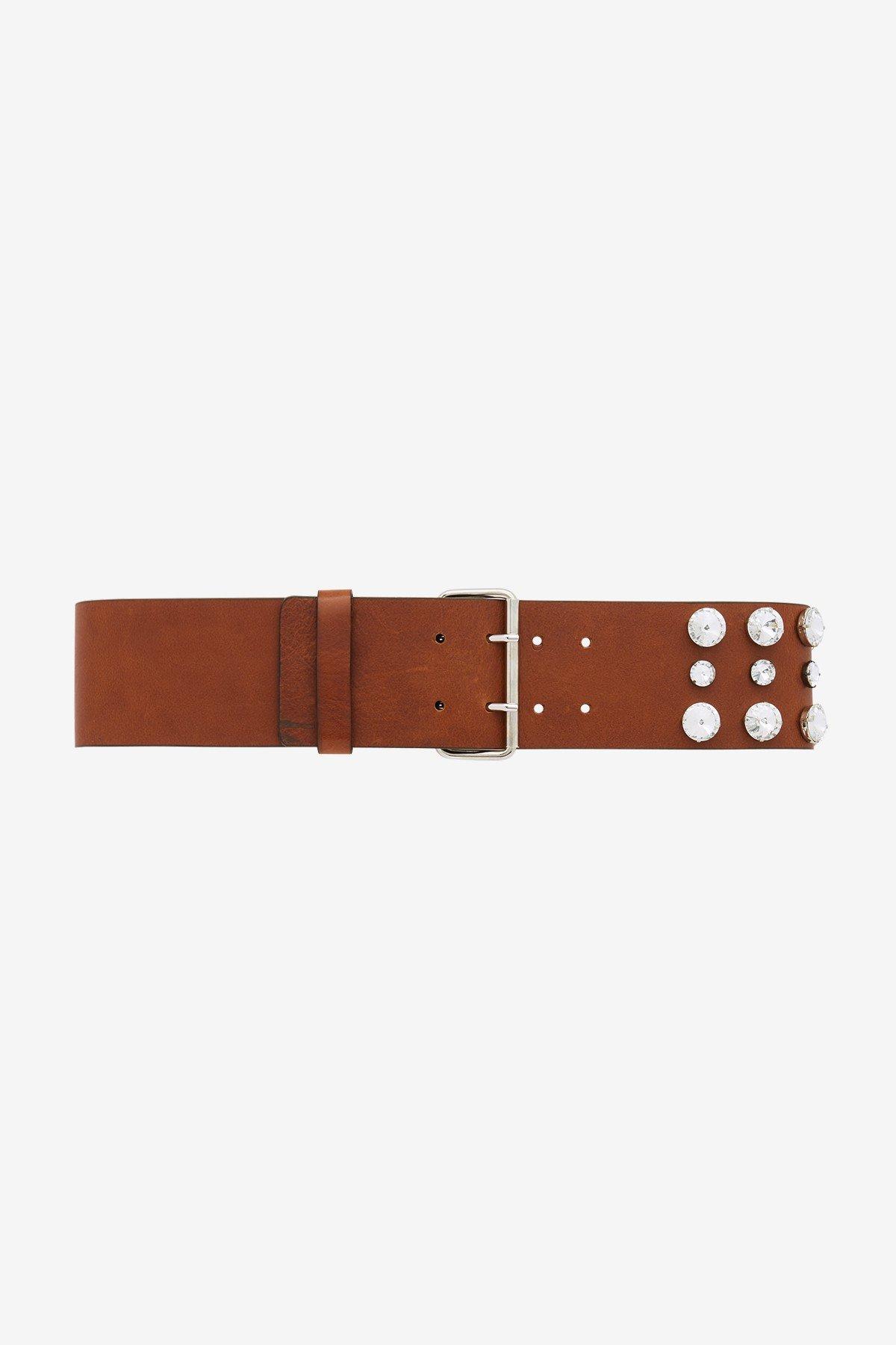Large leather belt