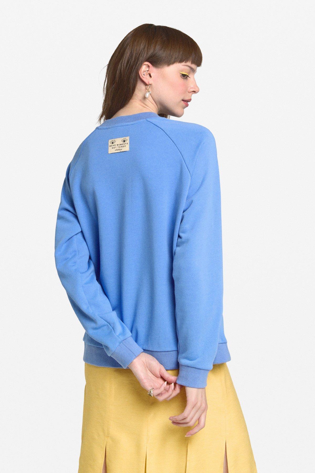 Sweatshirt with printing