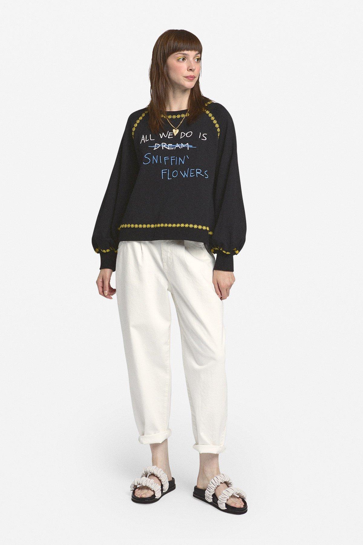 Cotton sweatshirt