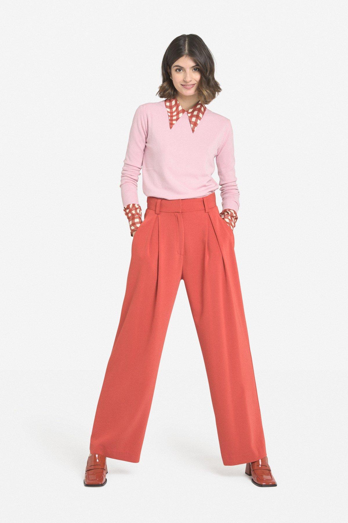 Palazzo trousers