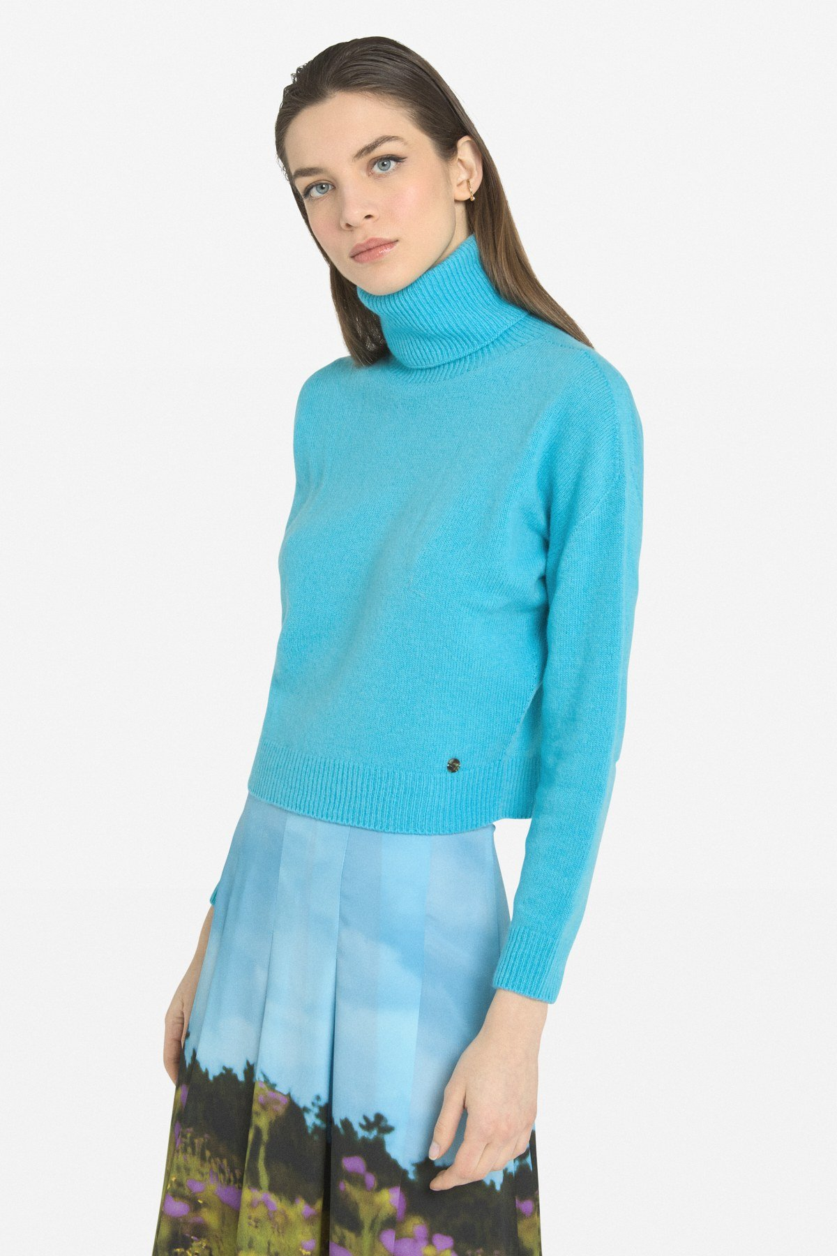 Cashmere blend pull