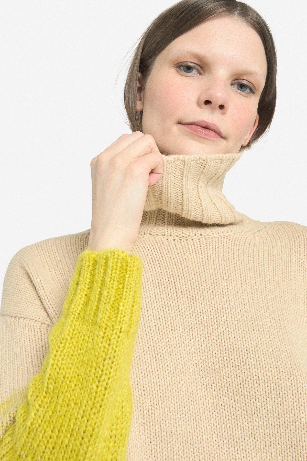 Mohair blend sweater