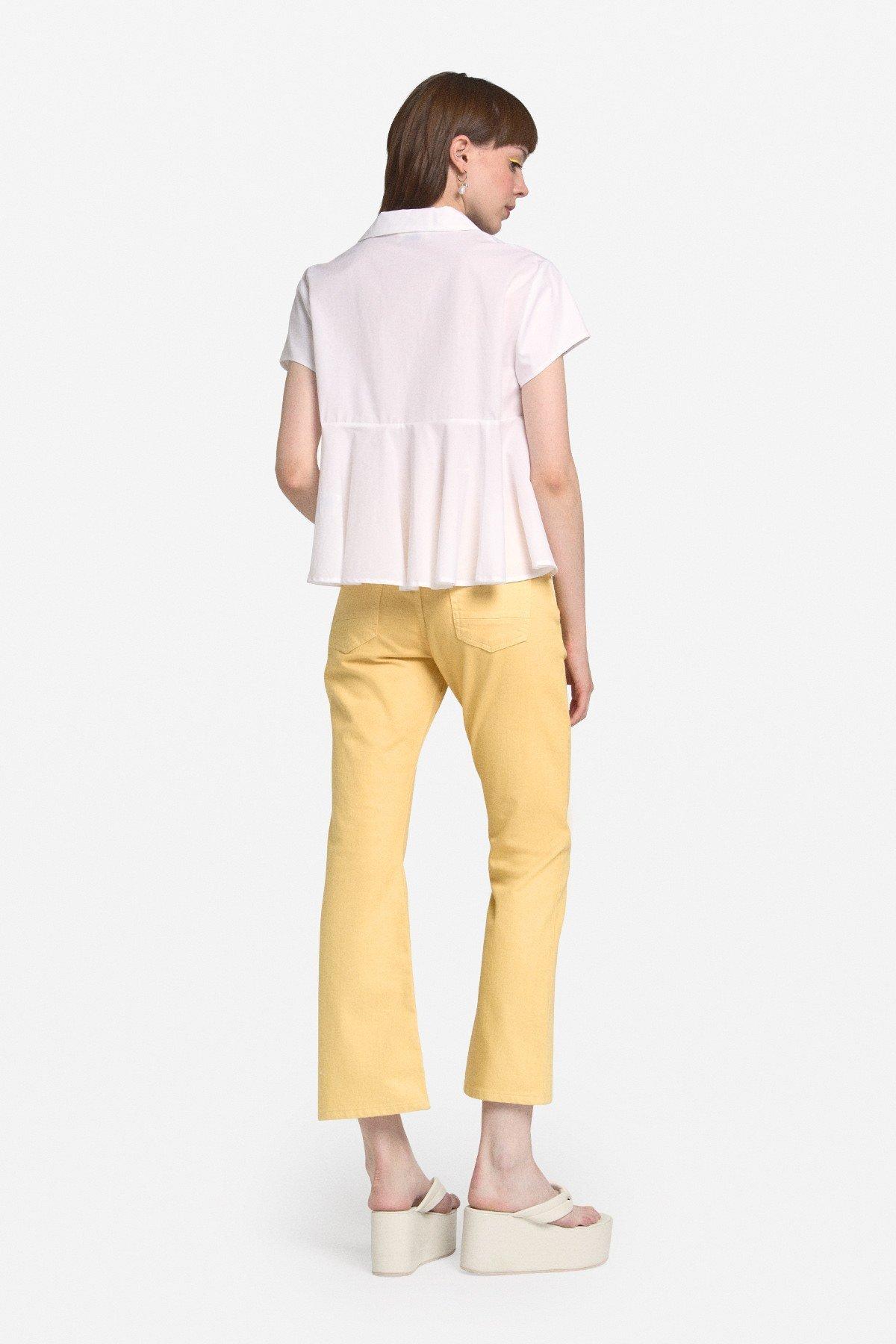 Cotton kick jeans