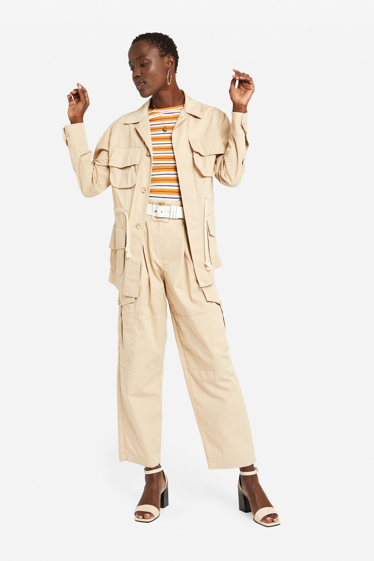 Cotton saharian jacket