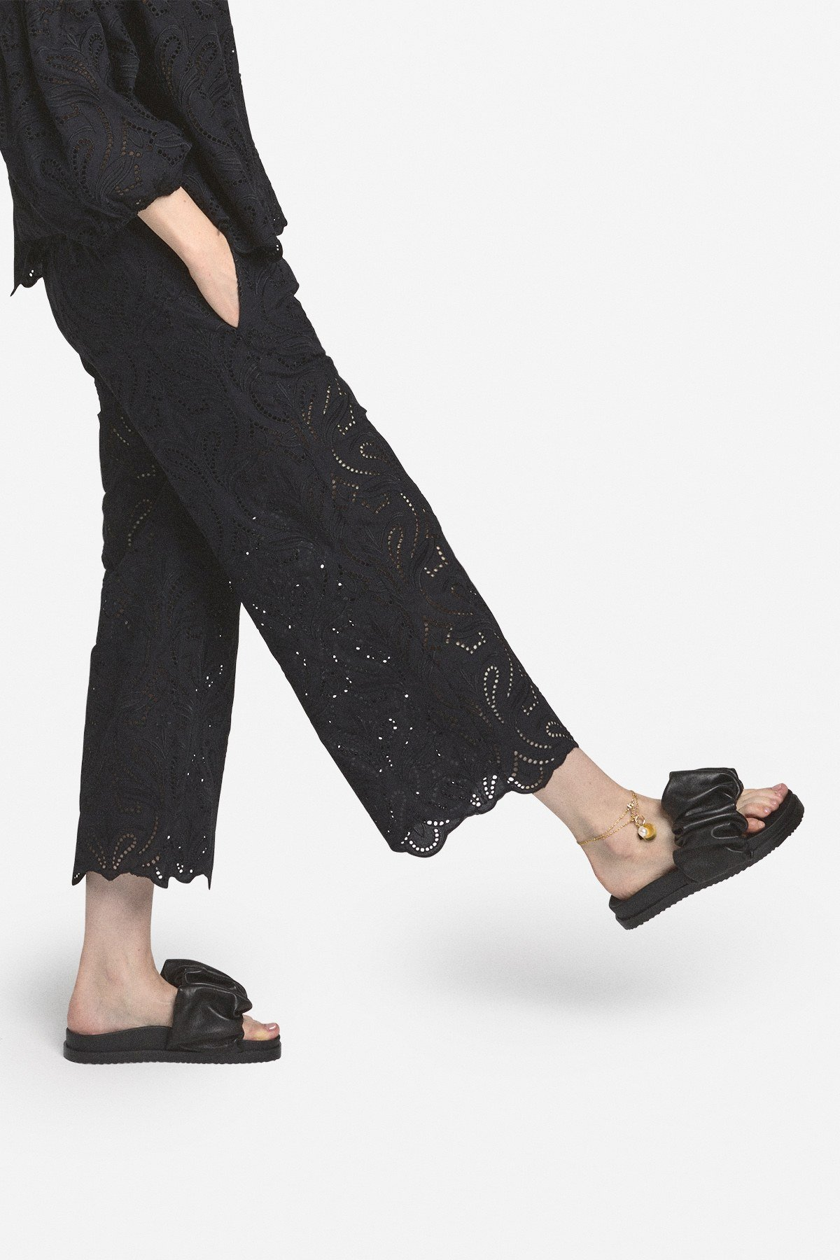 Sangallo cropped trousers