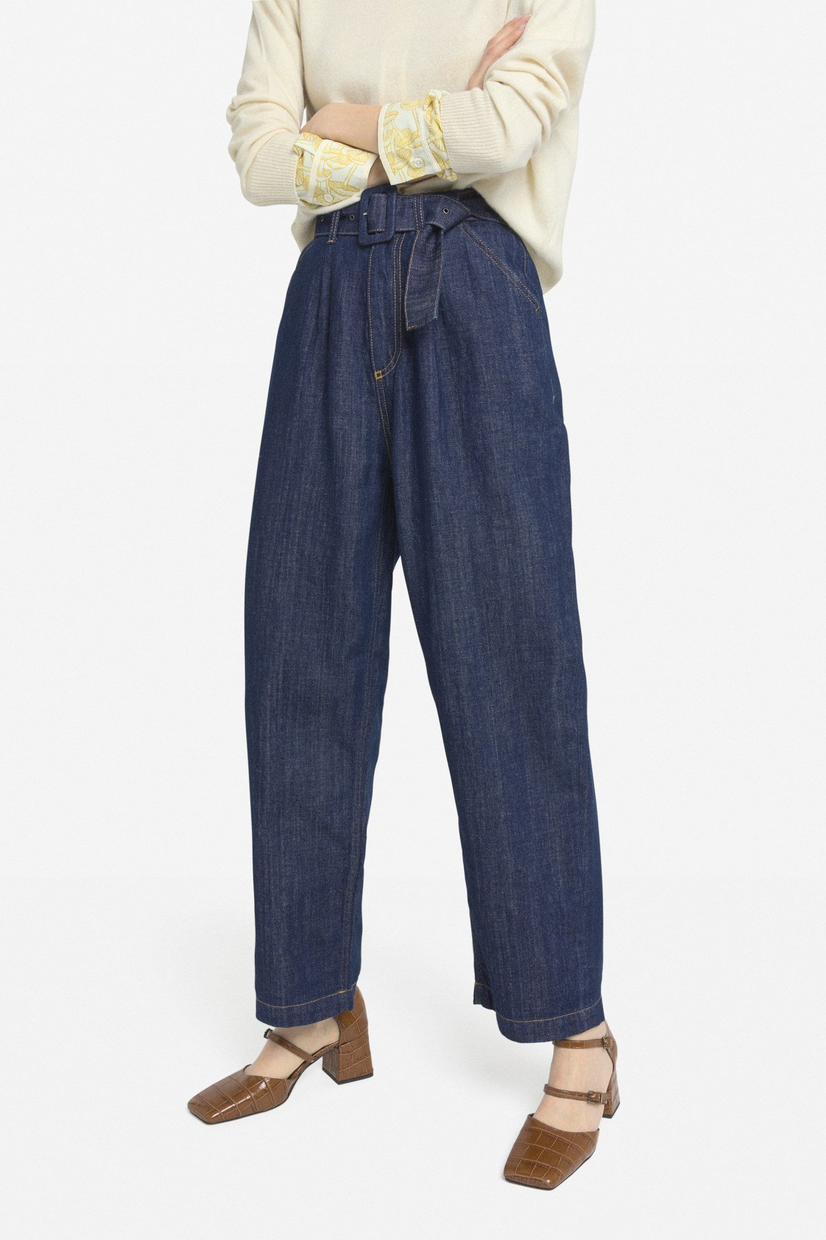 Straight Pince jeans