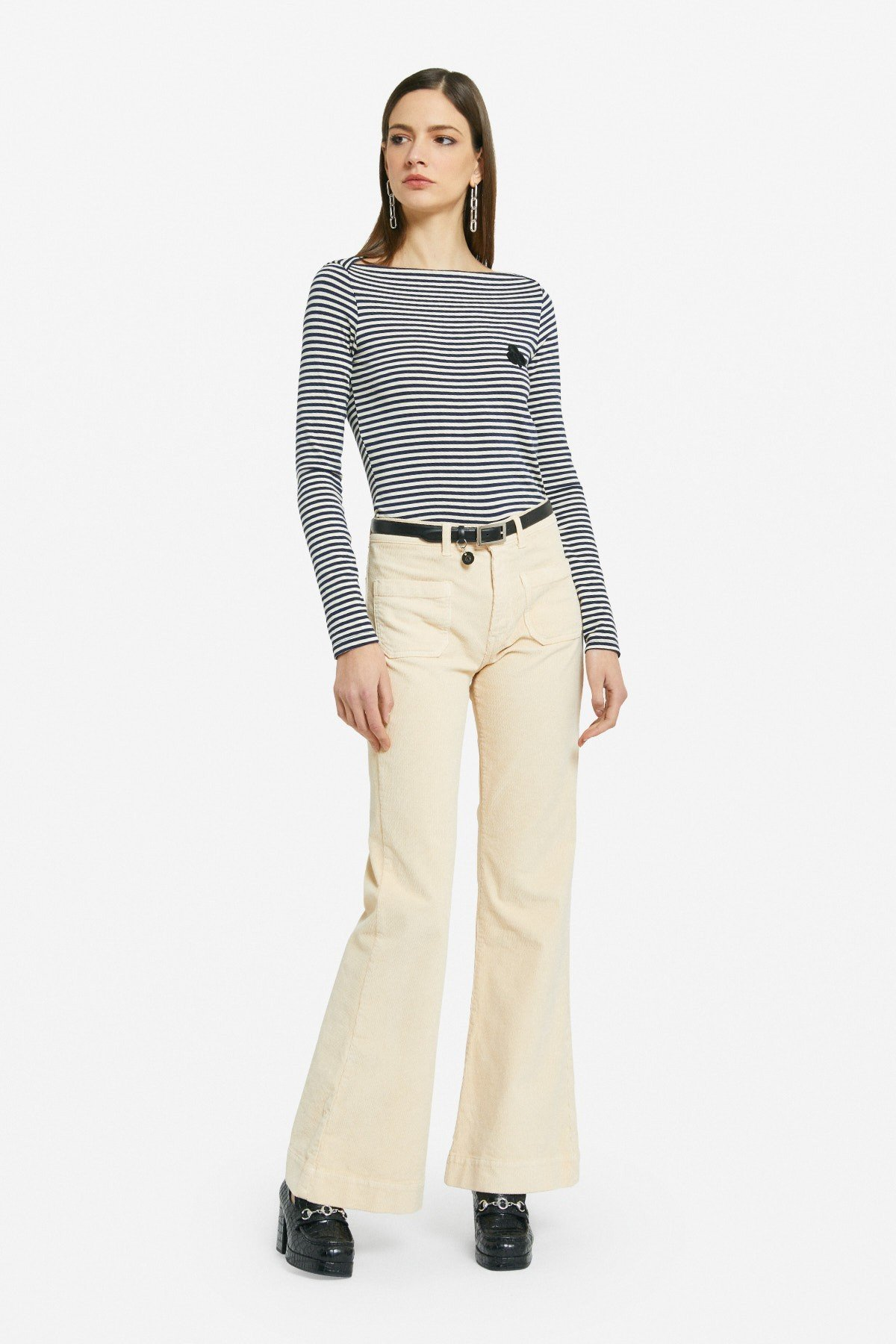 French pocket trousers