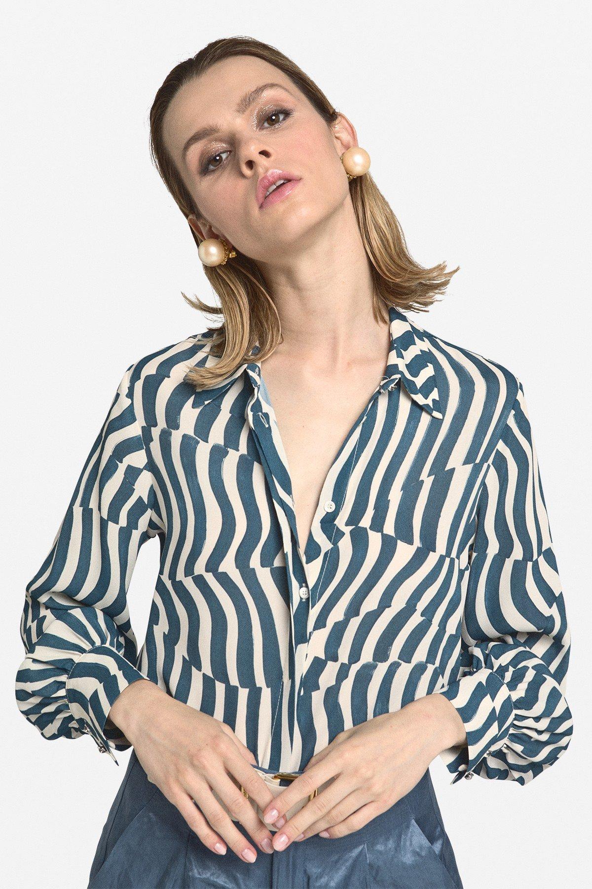 Viscose shirt