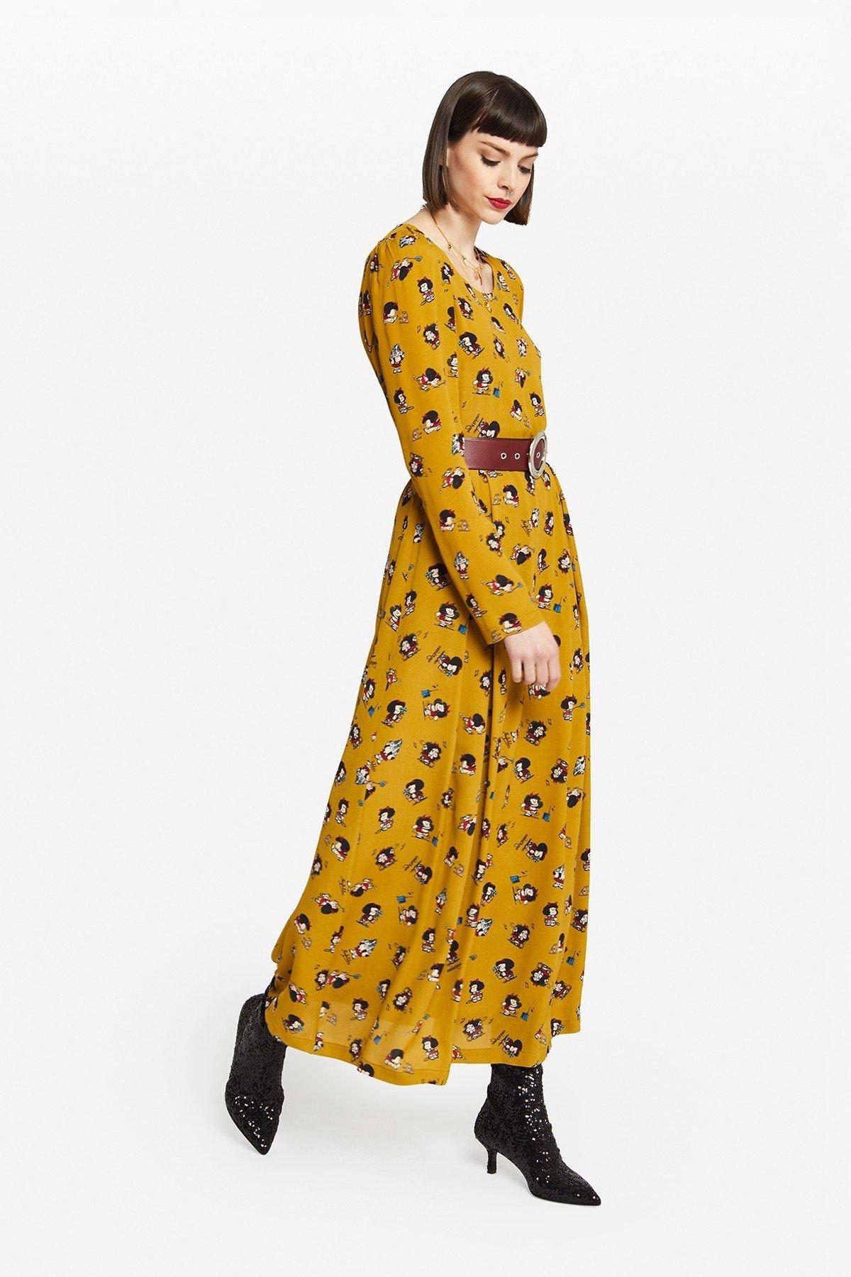 Viscose Capsule Mafalda long dress