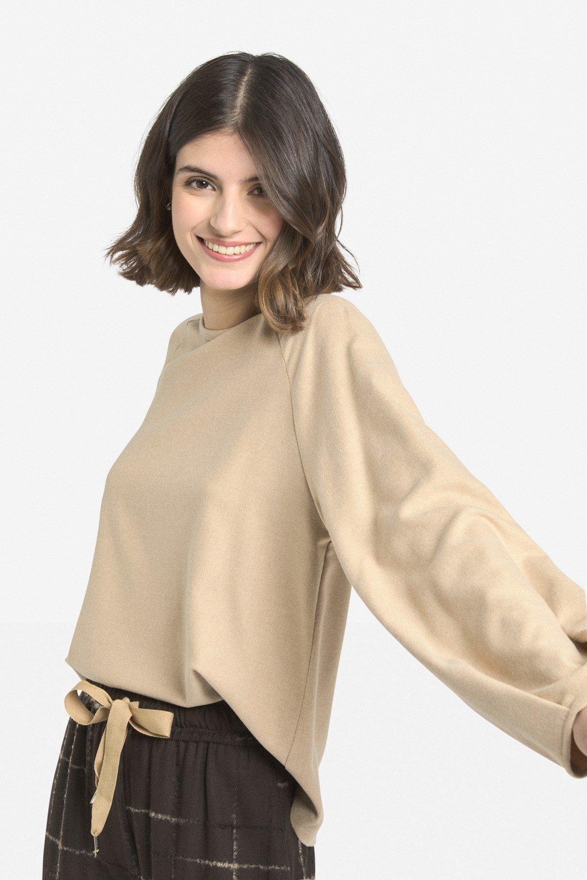 Shawl sweater