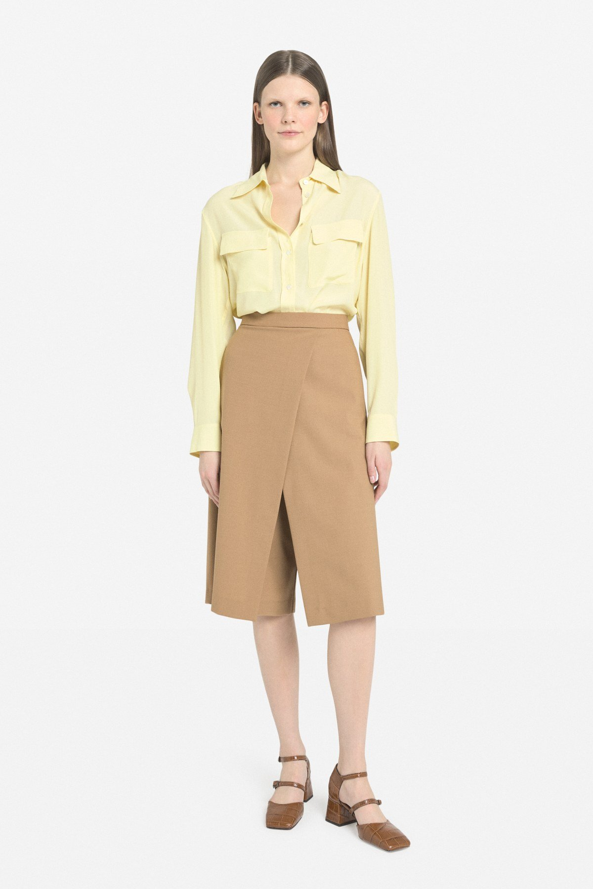 Cropped culottes